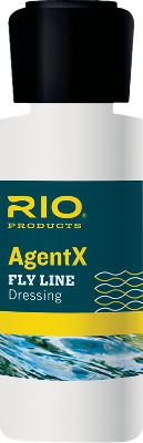 Flyfishing Formulated to enhance the performance of all modern fly lines allowing them to cast farther, remain clean longer and float higher than untreated lines. Easy to apply and ready to fish immediately after dressing. Kit includes four Wonder cloths and 1-oz. bottle of line dressing. Available: Agent X, Agent X Kit (not shown). Size: AGENT X. - $7.95