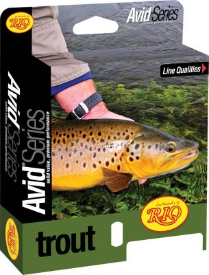 Flyfishing An all-purpose line with an easy-casting taper. The supple, self-lubricating coating stays slick and features Agent X technology for extra distance. Front-loaded taper casts all fly sizes with ease and delivers excellent turnover and presentation. The line is slightly heavier than the AFTMA standard for easier loading on fast-action rods. Front-end welded loop for easy line changes. Size: AVID TROUT WF6F. Type: Floating Freshwater. - $54.95