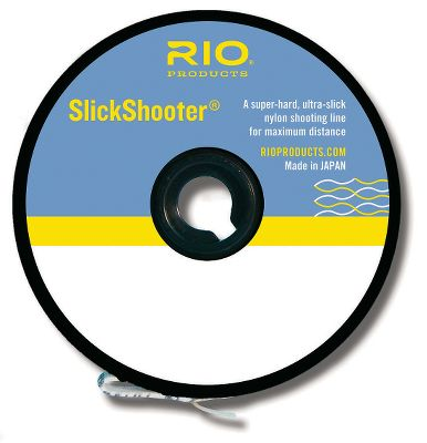 Flyfishing Rio engineered this oval-shaped nylon shooter with a super-hard, super-slick finish, reducing the friction for long-distance casts. The line does not retain memory off the spool or after being stretched, so accuracy is not compromised. Size: 44 lb.. Type: Shooting Line. - $15.95