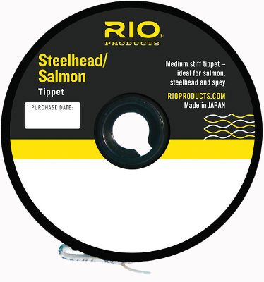 Flyfishing This medium stiff tippet material is ideal for salmon, steelhead and spey. Length: 30 yards. Available: 8, 10, 12, 16, 20-lb. test. - $2.88