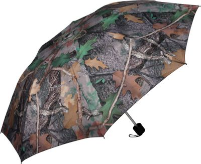 Dont let the rain get you down. This camo umbrella will keep you dry on drizzly days. At a compact 10L x 2D when stored, this umbrella is great for keeping in the car or closet. The polyester canopy comes in Fall Transition camo. Includes a polyester camo storage bag. Imported. Color: Pink Camo. Color: Pink Camo. Type: Umbrellas. - $15.88