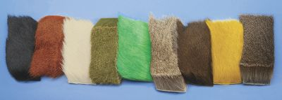 Flyfishing Deer Hide is truly an all-around hair. Used for everything from wings and tails to clipped bodies on flies. Great for flies such as bass bugs, terrestrials, stimulators, caddis, muddlers and irresistibles. Colors: Black, Rust, White, Olive, Chartreuse, Natural, Natural Brown, Yellow, Gray. Color: Chartreuse. - $8.49