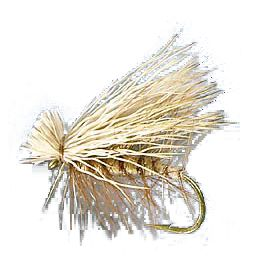 Flyfishing Elk hair from the hock has always been a favorite with tiers for elk hair caddis patterns. The fine hair does not flare out and lays perfectly along the top of the hook for a realistic looking wing. It also dyes very well. Available: 12 square inches.Colors: Natural and Bleached. Color: Natural. - $10.49
