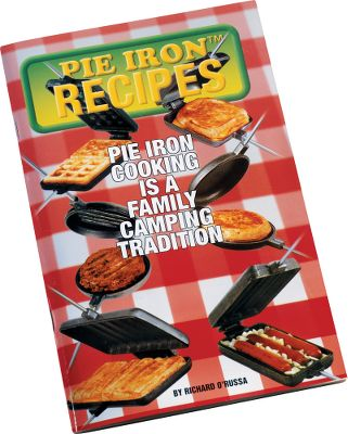 Camp and Hike Explore your cooking possibilities with this Pie Iron Cookbook by Richard O'Russa. In this 64-page cookbook, he explores the world of pie iron cooking with over 125 different recipes for all types of campfire meals. Color: Multi. Type: Cookbooks. - $5.99