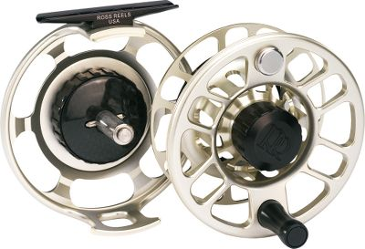 Flyfishing Put the brakes on tarpon, marlin and bull reds with the strongest, most dependable big-game fly reel on the market today. Its 6.3-sq.-in. effective drag surface boasts more than three times the stopping power of any reel in its class. Vastly stronger than titanium, the carbon fiber drag material has a tensile strength of 700,000 pounds of force per square inch. Carbon fiber also delivers best-in-the-industry shock, fatigue and heat resistance, and unmatched stiffness and strength. The triple redundancy drag system is reinforced with titanium components for top-of-the-line reliability and performance. Corrosion-resistant, high-strength aluminum frame and spool with water-shedding grooves on the palming rim. Quick-release locking spool. Manufacturer's lifetime warranty. Made in USA. Color: Gold. Gender: Male. Age Group: Adult. Type: Saltwater Fly Reels. - $470.00