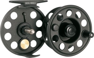 "Flyfishing The Flystart is a large arbor fly reel that is affordably priced, yet built with the same commitment to quality and performance as all Ross reels. The gear-to-gear drag is a low maintenance, high performance system that is dependable, smooth and has a wide range of adjustment. And don't be fooled by the price. This reel is everything a budget-minded angler needs to land the fish of a lifetime. Available in sizes covering everything from small streams to large rivers and lakes. Color: Black. Weight (oz.): 5.5. Type: Freshwater Fly Reels. Reel Model: 2. Fly-Line Weight: 4-6. Diameter (in.): 3.25"". Capacity: 125 yds./20 lb./WF5. 2. - $45.00"