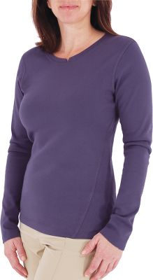 Entertainment Ringspun combed cotton rib knit has more stretch than plain knits to enhance freedom of movement. UPF rating of 50+ for sun protection. Garment-washed for softness. Contemporary fit. Hip length. 100% cotton. Imported.Sizes: S-XL.Colors: Turkish Coffee, Blueprint. - $9.88