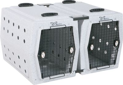 Hunting Includes four brackets and bolts for joining two like-sized kennels or adding another single unit to a formation of like-sized Ruff Tuff kennels. (Optional handle kit shown.) Type: Kennel Accessories. - $39.99