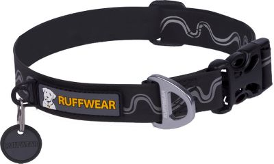 Entertainment Waterproof, odorproof and reflective, it's the perfect collar for your water-loving dog. Waterproof coating keeps collar odor-free and looking like new. Highly reflective pattern increases visibility. Anodized, one-piece aluminum V-ring provides strong attachment point. Four-point stitching ensures strength and durability. Minimal tag jingle with silencer. Imported. Width: 1. Sizes: M(14-20), L(20-26). Colors: Black, Red. Size: MEDIUM. Color: Red. - $31.99