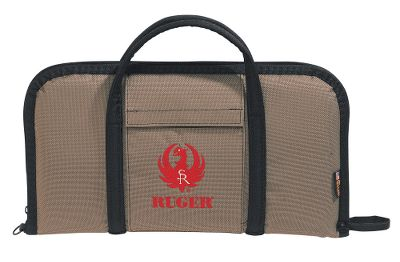 Hunting Ruger firearms are known for durability, and the rugged 18 x 10 Attache Pistol Case carries on that tradition. Your guns are protected by a tough 1,200-denier Allen Poly Duck fabric shell exterior. Pistol cases have 7/8 -thick foam padding. Cotton corduroy lining, padded carry handles and lockable zippers. Type: Soft Cases. - $26.88