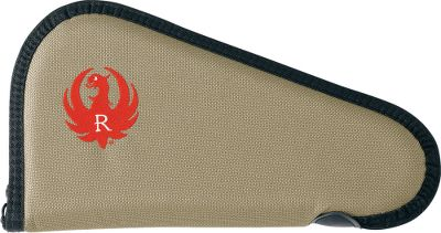 Hunting Ruger firearms are known for durability, and these rugged cases carry on that tradition. Your guns are protected by a tough, 1,200-denier Allen Poly Duck fabric shell exterior with lockable zippers. Pistol cases have 7/8 -thick foam padding. Available: 11 Pistol Case 13 Pistol Case Size: 11 CASE. Type: Soft Cases. - $16.99