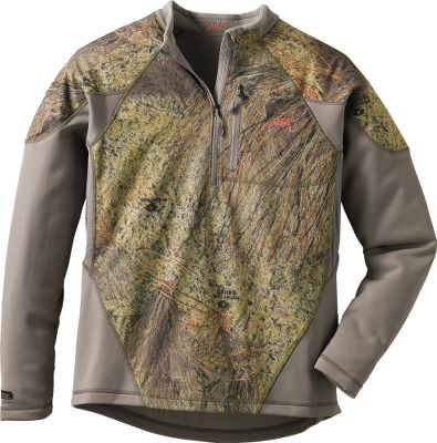 Hunting Wear as a base layer or an outer layer, this pullover blends moisture management with lightweight, nonrestrictive performance to keep you comfortable, dry and mobile. Scent-Stop technology captures game-spooking odors. Dri-Power fabric treatment wicks moisture away from your body. Double-layered areas for enhanced wind resistance. Flatlock stitching. 100% polyester body. 84/16 polyester/spandex trim. Imported.Sizes: S-3XL.Camo patterns: Realtree MAX-1, Realtree AP, Mossy Oak Brush. - $24.88
