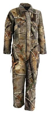Hunting Outfit your young hunter with full-body camouflage and a layer of insulated warmth. Built of a durable, comfortable and brushed 60/40 cotton/polyester fabric. Insulated with a chill-beating layer of 100% polyester insulation. The smooth 100% nylon lining makes getting in and out easy. Ample pockets for gear storage. Machine washable. Imported.Sizes: S-XL.Camo pattern: Realtree AP. - $69.99