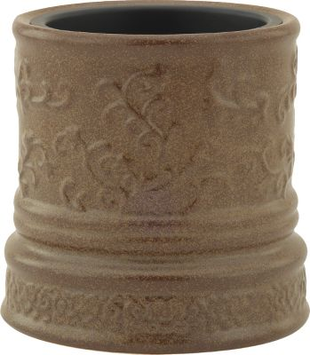 Flameless and super-safe! Enjoy the aroma of your favorite candle without even lighting it. This rustic and elegant crock warms and melts scented candles from the sides and bottom releasing the pleasing fragrance into the air. Ideal for the home, office or bathroom. Accommodates most 22-oz. or smaller candles. Dial switch. 24 watt. UL approved for safety. Dimensions: 6.25H x 6W. Color: Rustic Brown. - $14.88
