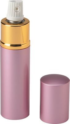 Entertainment It looks like lipstick, but packs a high-powered pepper spray. Easily conceals in a pocket or purse. Contains 25 bursts. Color: Pink. - $9.99