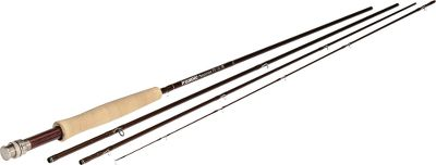 Flyfishing Featuring the ideal combination of smooth casting and fast action, this fly rod provides pinpoint accuracy and fish fighting strength. Hard-chrome snake guides evenly distribute line pressure for consistent performance. Rosewood and aluminum reel seat is a beautiful as it is durable. Break-down, four-piece design easily packs away for convenient carry. Comes with a brown Cordura nylon rod tube. Color: Sage. - $199.88
