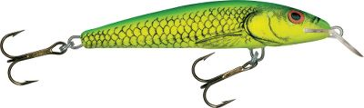 "Fishing Made of high-density foam that makes fish hang on longer for the hookset, the Sting is fast-becoming a favorite among tournament anglers. Its rod-shaking action produces results that have made it one of Europe's top-selling lure. Suspending design. Per each.Sizes: 3-1/2"", 3/8 oz., dives 3 to 5 ft. 4-1/2"", 5/8 oz., dives 7 to 13 ft. Colors: (003)Yellow Dace, (007)Gold Metallic Orange, (008)Green Tiger, (009)Hot Perch, (030)Gray Silver, (031)Silver Metallic Black. - $4.88"