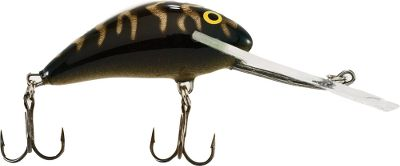 Fishing The proven, aggressive, fish-catching action of the classic Salmo Hornet now in a Super-Deep-Runner version. Though the same size as the original, these run a full 2-ft. deeper at 10-16 ft. Per each. Size: 2, 1/4 oz. Colors: (001)Black Tiger, (002)Silver/Black/Red, (003)Silver/Blue/Shad, (004)Silver/Orange/Red, (005)Dace, (006)Gold Flourescent Perch, (008)Green Tiger, (009)Hot Perch. Color: Silver/Black. - $7.99