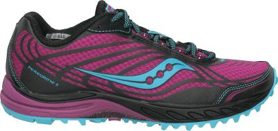 Fitness Incredible traction and responsiveness on uneven surfaces with lightweight, minimal uppers ideal for off-road training. Plush HydraMAX collar linings wick moisture. ProGrid cushioning for extra padding and shock absorption in the heels. External Bedrock Outsole plates protect feet from rocks and other debris. XT-900 carbon-rubber outsoles for superior traction without sacrificing durability. Imported.Average weight: 1.1 lbs./pair.Womens sizes: 6-10 medium width. Half sizes to 10.Colors: Grey/Pink, Purple. Type: Running Shoes. Size: 8. Shoe Width: MEDIUM. Color: Grey/pink. Size 8. Width Medium. Color Grey/Pink. - $99.99
