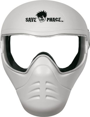 Fishing Enjoy your next throttle-down boat ride in total comfort and wicked-cool style. This over-the-face mask is ideal for boaters who tend to keep RPMs high on performance fishing and pleasure boats. Just as a hockey mask protects goalies from laser-speed slapshots, the Save Phace masks effectively protect your eyes and face from sun, wind, bugs, blowing sand and wave splash. Comfortable face-conforming padding and high-speed-secure strap system. UV-rated snap-out lenses are ASTM-rated for anti-fog performance and abrasion resistance. High-impact plastic shell. One size fits most. Available: Total Eclipse, Black Mamba, Head Hunter, Storm Troopa, Fallen. Color: Black. Type: Phace Masks. - $59.99