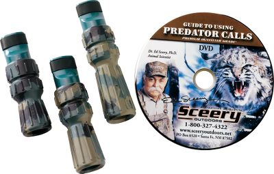 Hunting These Predator Kits With Soft Bite cover all of the tones to meet your rabbit and rodent in distress calling needs from east to west.Available: The Western Kit inclides Rodent Coaxer, Cottontail and Jack Rabbit calls plus 50-minute instructional video. The Eastern Kit Includes Rodent Coaxer, Cottontail and Coarse Cottontail calls plus video and lanyards. Type: Predator Kits. Eastern. - $44.88