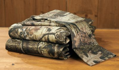 "Entertainment The natural contrast found in the woods comes to life in this bedding set. Get lost in the details of the natural 3-D world of Mossy Oak Break-Up Infinity . 100% cotton with reactive print dye. Imported. Sizes: Twin (68"" x 90""), Full (80"" x 90""), Queen (92"" x 90""), King (110"" x 90"").Camo pattern: Mossy Oak Break-Up Infinity . - $89.99"