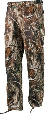Hunting Lightweight, early-season Scent-Lok Mirage Pants are optimized for warm-weather hunts and feature Carbon Alloy technology that reduces odor. Self-adjusting waistband provides a custom fit. Gear secure webbing offers easy accessory attachment. Angled cargo pockets for easy access to the essentials while seated. Articulated knees for a greater range of motion. 100% polyester. Imported.Sizes: M-2XL.Camo patterns: Mossy Oak Break-Up Infinity, Realtree XTRA. - $149.99