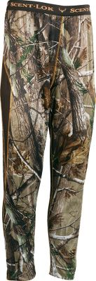 Hunting The ideal scent-reducing pants for early-season hunts. New material in these Scent-Lok Baselayers Lightweight Base-Layer Pants is lighter than previous offerings for increased comfort. Can be worn alone during warm weather or as a layer when its cooler. Carbon Alloy technology adsorbs a wide range of human odors for more complete performance. Antimicrobial treatment fights odor-causing bacteria, reducing odor. Side gussets for ease of movement. Flatlock seams wont rub or chafe. Imported.Sizes: M-2XLCamo pattern: Realtree AP. Type: Base Layer Bottoms. Size: 2 X-Large. Color: Realtree Ap Hd. Camo Pattern: Realtree AP. Size 2xl. Color Realtree Ap Hd. - $33.88