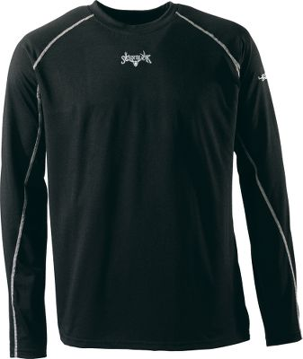 Hunting Scent-Lok's moisture-wicking base-layer Mid Weight top perfectly blends moisture management with odor control, adding a new solution to your scent-control strategy. This polyester-blended garment is antimicrobial treated to control odor-causing bacteria. Ideal for cooler days or cold days with high activity. Imported. Sizes: M-2XL.Color: Black. - $14.88
