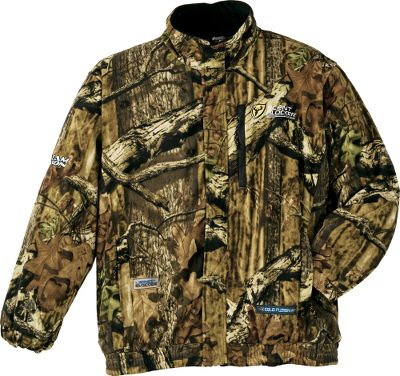 Hunting The primary defenses of game animals are smell, sight and hearing, and Protec XT helps you defeat all three comfortably. This jacket features plenty of storage options and optimal concealing ability, and its constructed of soft, quiet, anti-pilling fleece that keeps you warm while quieting your movements. SPF 60 ScentBlocker Cold Fusion technology reduces transmission of your scent to wary noses. 100% WindBlocker protection prevents chilly winds from penetrating. It has a full-length front zipper with a wind flap. An innovative safety harness slit in the back makes for easy harness attachment and concealment. A BodyLock collar teams with a full elastic waist and elastic cuffs to help contain your scent. Storage options include a vertical zippered chest pocket and a pair of lower zippered pockets. Tree Spider compatible. Imported.Sizes: M-2XL.Camo pattern: Mossy Oak Break-Up Infinity. - $57.88