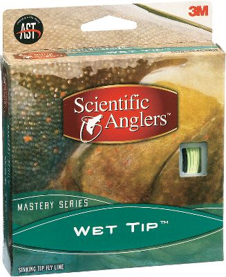 Flyfishing Mastery Wet Tip III is best fished 3-5 feet in moderate currents, while IV and V are for fishing 5 feet and deeper in faster currents. Size: WF5. - $31.88