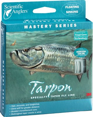 Flyfishing Floating line that offers the power and casting performance required for tarpon. Compound tapered head provides better turnover even under demanding saltwater conditions. Color: Horizon. Type: Floating Saltwater. - $69.95