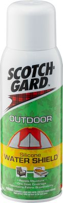 Camp and Hike Scotchgard Outdoor Water Shield creates a heavy-duty barrier that repels moisture, yet remains breathable to keep clothing and gear dry. One application provides optimal protection. Size: 10.5-oz. can. Gender: Male. Age Group: Adult. - $7.99