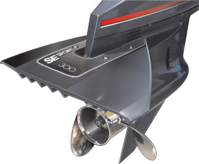 Fitness Engineered of a high-strength copolymer, SE Sport Series Hydrofoils have been the leader in performance for 10 years running. The compact design produces less resistance, improved thrust and greater top-end speed. The crescent-shaped planing surface promotes ultrafast hole shots while practically eliminating porpoising and cavitation. The Sport also keeps your boat on plane at lower speeds for better gas mileage and a smoother ride while towing a skier or tube. The Sport 300 fits most outboards and sterndrives from 40hp and up (unlimited).Exclusive sight gauge for a perfect installation. Lifetime warranty. Colors: Gray, White, or Black. Color: White. Type: Hydrofoil. - $59.99
