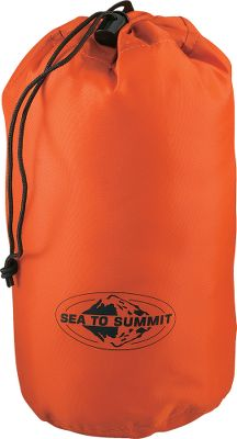 Camp and Hike An affordable way to organize outdoor gear. Sea to Summit Stuff sacks have a separate channel for the drawcord sewn on to the top of the sack with the cord exit on the other side of the sack from the main seam. Result no stress on the seam, no failures. Available in sizes to meet all your hauling needs. Nylon. Imported. Colors: Assorted. Available: XS - 12H x 5 dia. S - 13H x 6-1/2 dia. M - 15H x 7 dia. L - 17H x 8-1/2 dia. XL - 20H x 9-1/2 dia. XXL - 24H x 10-1/2 dia. Color: Assorted. Type: Stuff Sacks. - $9.95
