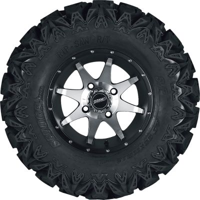 Motorsports No-hassle, pre-mounted tire and all-aluminum wheel kits in 12 or 14 wheel sizes. Wheel caps included. Per 4. - $599.99