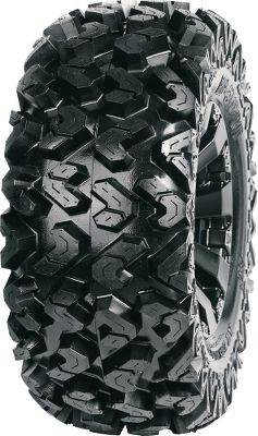 Entertainment Sedonas Rip Saw Tire is made to tackle extreme terrain. The 1-1/8 deep aggressive tread pattern wraps onto the sidewalls to maximize traction in deep-rutted, muddy conditions and in all kinds of terrain. Durable 6-ply radial construction enhances stability and keeps the ride smooth by absorbing impacts when the trail gets rough. 25 and 26 height. Rim not included.Nebraska residents must add $1.00 per tire for state tax. - $109.99