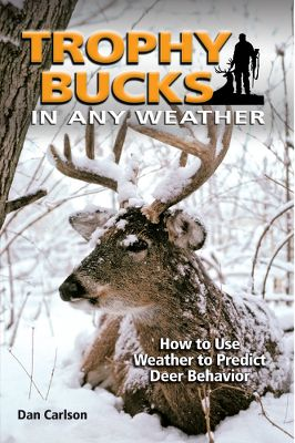 Hunting In the first book of its kind, author Dan Carlson, a former broadcast meteorologist turned outdoor writer and an avid hunter, explains in great detail how weather influences the behavior of deer. Hunters will learn how to use this knowledge to help fill their tags. What tactics work best when a warm front is approaching? What's the best way to hunt deer before and after a cold front moves through? How do deer react to various forms of precipitation? What roles can atmospheric pressure, temperature and wind play in the success of a hunt and the performance of hunting equipment? The author brings nearly three decades of weather expertise and hunting experience to bear in answering these questions and many more. You'll find yourself using the information in this book again and again to put more venison in your freezer, and perhaps a few trophy bucks on your wall. Full color with more than 200 photographs and illustrations. 272 pages. Softcover. Type: Books. - $21.99
