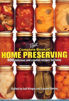 Specific instructions for first-timers and useful tips for experienced canners make this the new bible of home preserving. It includes detailed directions for 400 enticing recipes, along with required equipment and utensils. Recipes include pickling, salsa, sauce, relish, jam, jelly, chutney and more. 448 pages. Softbound. - $22.95