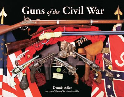 Elegantly written and filled with exquisite photography of the handguns, rifles and muskets of the Civil War era. This richly detailed history of the legendary guns and the rival armsmakers of the Civil War era features numerous close-ups that capture the detail of each piece. Includes history on the Colt, Henry, Manhattan, Remington, Sharps, Spencer, and SW firearms. 352 pages. Hardcover. - $40.00