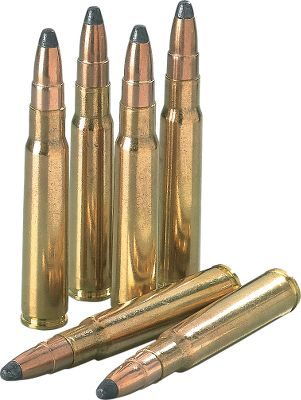"Hunting For deer hunting or target shooting, you won't find a more affordable way to shoot your 8mm Mauser than with this bulk ammo from Sellier & Bellot. It's loaded with precision and premium components for superior accuracy. The .323"" diameter, 196-gr. soft-point bullet is ideal for big game and practice alike. Imported.Available:Per 100 One Dry-storage boxPer 200 One Dry-storage box - $109.99"