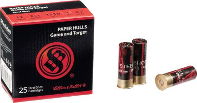 Shotgun shells with a nostalgic look that provide outstanding modern performance from a nontoxic payload. They feature paper hulls, deliver lighter recoil and offer consistent patterns. These 2-3/4 shells are loaded with No. 7 shot in your choice of 12 or 20 gauge loads, theyre ideal for shooting clays, doves and upland birds in areas where lead shot is prohibited. 25 shells per box. - $6.99