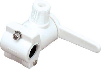 Motorsports Keep your antenna secure to your boat with this nylon rail ratchet mount that fits all 7/8 and 1 round rails. The rail ratchet mount is designed for quick and easy installation. - $11.99