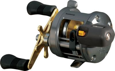 Fishing Built to take the brutal conditions of long-line trolling in heavy chop, the Tekota series helps you make the most of every moment on the water. Whether using downriggers, divers, planer boards or lead-core line, these reels from Shimano will meet the needs and demands of any serious troller. Designed to handle medium to large game fish such as walleye, muskie, salmon, lakers, dorado and small tuna, they are packed with all the features it takes to make a high-quality, highly functional reel. A one-piece die-cast aluminum frame provides tight tolerances, durability and is built to last season after season. Smooth star drag system is easy to adjust for the exact amount of resistance you want the fish to work against. Counterbalanced handle shank reduces reel wobble during the retrieve. Oversized clicker button is easily found during the heat of battle and makes for quick setting. Specially treated A-RB bearings are at least 10 times more corrosion-resistant than standard stainless steel bearings (three ball bearings and one roller bearing). These bearings promote smooth, even line flow. Crossbar-forward construction for easy access to the spool, and true levelwind for even line lay. Super Stopper anti-reverse with no backplay for instantaneous hooksets. Nondisengaging levelwind system reduces sharp line angles for decreased friction and wear on the line. Ergonomic Septon handle grip is easy to find, hold and crank even when your hands are cold and stiff. Linecounter versions are equipped with a palmable linecounter with maintenance port. These reels accurately read how much line has been deployed up to 999 feet. Color: Stainless Steel. Type: Trolling Reels With Line Counters. - $189.99