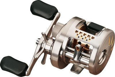 Fishing Combines the legendary performance of the Calcutta TE with the worlds first self-energizing digital braking system to add significant distance to your casts with less effort and fewer backlashes. Digital Braking Technology allows spool rotation to exceed 30,000 RPM before applying the optimum amount of braking force every 1/1000 of a second based on your selection of eight pre-programmed settings. This system far surpasses traditional centrifugal or magnetic braking systems that are always engaged (impeding momentum throughout the entire cast) and only operate efficiently between 15,000 and 20,000 RPM. The sealed, waterproof Digital Control circuit board stores energy generated by the rotation of the spool, so no battery or external battery source is needed. Eight-position external dial offers quick, easy adjustment of the system, letting you access the pre-programmed brake patterns. Smooth, high-power Dartanium drag system handles even the hardest-running fish. 11 total A-RB (Anti-Rust Bearings), 10BB + 1RB, are at least 10 times more corrosion resistant than standard stainless steel ball bearings and deliver incredibly smooth operation. HEG (High Efficiency Gearing) makes every crank of the handle count. Super Free Pinion Gear System eliminates friction between the pinion gear and the spool shaft for increased freespool. Super Stopper Anti-Reverse ensures positive hooksets. Precision machine-cut aluminum frame and rigid aluminum sideplates. Lightweight aluminum Wiffle Spool. The recessed reel foot makes it extremely palmable for comfortable one-handed operation. Weight (oz.): 9.9. Type: Casting Reels. Reel Model: CTE200DC. Line Capacity (yds./lb. test): 135/10. Gear Ratio: 5.0:1. Bearings: 10+1. Reel Cte200dc. - $529.99