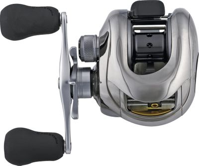 Fishing Shimanos Calais DC Casting Reel won Best of Show at ICAST 2006 in the freshwater reel category. This reel takes digital casting control to the next level. The 4x8 Digital Control Braking System was thoroughly analyzed for mechanical and environmental conditions and the resulting design incorporated four new profiles: Extreme Distance X to allow for more than 50,000 RPM; Long Distance Mode L for most fishing applications; Accuracy Mode A for skipping and pitching; and Wind Mode W for casts into headwinds. These four profiles each have eight settings for a total of 32 different settings, which can handle just about any kind of fishing situation. Additional features include the Magnumlite aluminum spool, the Super Free bearing supported pinion gear system, the High Efficiency Gearing to allow for fast 7:1 gear ratio, at tapered titanium levelwind insert that makes it easier to thread the line and reduces friction during casting and the super smooth Dartanium Drag that is capable of generating 12 lbs. of drag. Both DC reels have 10 shielded A-RB anti-rust ball bearing plus one A-RB roller bearing. Color: Titanium. Type: Casting Reels. - $489.88