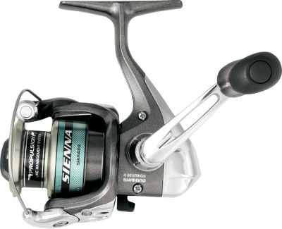 Fishing This reel has high-end features and performance, like the Propulsion Line Management system for longer casts and reduced backlash. The Super Stopper II provides instant anti-reverse without backplay. Propulsion spool lip prevents backlashes. Varispeed oscillation controls spool-speed for even line lay. DynaBalance in the rotor eliminates wobble during retrieves. Power Roller II reduces twist from casting and retrieving. Graphite frame, sideplate and rotor. Cold-forged aluminum spool. Type: Spinning Reels. - $29.99