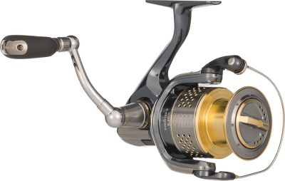 Fishing Want the best? You found it. Shimano integrated its entire arsenal of fish-finding technology in this next generation, top-of-the-line reel. The double-bearing-supported X-Ship pinion gear boosts cranking power and gear efficiency, reducing handle rotation torque by 60%. Its always-smooth, 15-bearing system features A-RB stainless steel bearings for 10 times more corrosion-resistance. Tournament-proven Paladin gear enhancement lets you crank down hard on heavyweight fish with a cold-forged aluminum drive gear and a hardened pinion gear. Innovative, SR-Concept design delivers smooth, reliable performance from all components, including 3-D gears, triple-ball-bearing oscillation, one-piece bail wire, a floating shaft and a boltless, perfectly balanced body. The five-piece Propulsion Line Management System increases casting distance and line flow, while reducing friction and line twist. Aero Wrap II Oscillation for uniform line lay. DynaBalance prevents wobble during retrieves. Super Stopper II anti-reverse eliminates backplay. Polished Fluidrive II gear surfaces maximize tooth contact. Machined-aluminum spool with titanium lip. Corrosion-blocking (Electronic Ionization) surface treatment. Lightweight magnesium frame and sideplates. Nonslip Septon grips. Easy-access maintenance ports. Rated for freshwater or saltwater. Weight (oz.): 8. Type: Spinning Reels. Reel Model: STL2500FE. Max. Drag (lbs.): 20. Line Capacity (yds./lb. test): 140/8. Gear Ratio: 6.0:1. Bearings: 14+1. Reel Stl2500fe. - $629.88