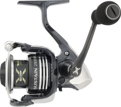 Fishing A hybrid of lightweight graphite and durable aluminum, Sustain blends key features of some of Shimanos most effective reels. All of its components work together for longer casting, reduced friction and increased efficiency. Machined-aluminum handle with EVA knob. Magnumlite Ci4 rotor on 1000-4000 models only. - $329.99