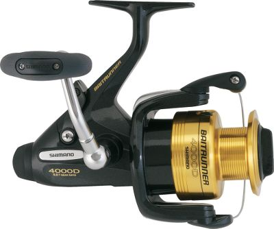 Fishing Shimano's Baitrunner has stood the test of time. Not many reels last for 23 years. Not that there wasn't room for improvement with a modern, compact design, graphite frame and sideplate, and cold-forged aluminum spool. The Propulsion Line Management System, Varispeed Oscillation, S-concept rotor and arm cam makes casting a dream. Dartainium II Drag washers and waterproof drag are silky smooth. New smaller size for freshwater and inshore fishing. - $139.88
